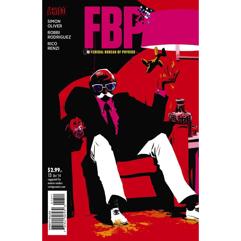 FBP FEDERAL BUREAU OF PHYSICS #13 - Comics