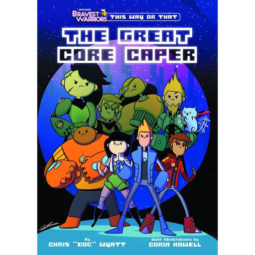 BRAVEST WARRIORS THIS WAY OR THAT GREAT CORE CAPER TPB - Books-Graphic-Novels