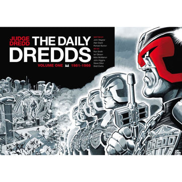 JUDGE DREDD DAILY DREDDS HC 01 (UK ITEM - RT) - Books-Graphic-Novels