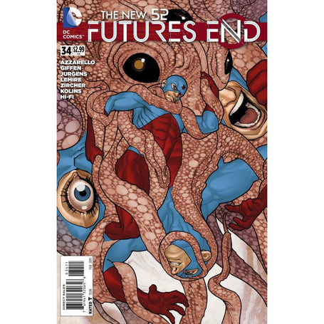 NEW 52 FUTURES END #34 - Comics
