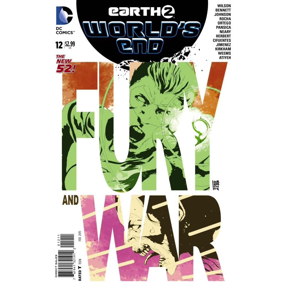 EARTH 2 WORLDS END #12 - Comics
