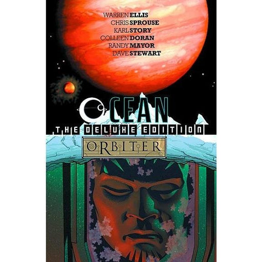 OCEAN ORBITER DELUXE ED HC - Books-Graphic-Novels