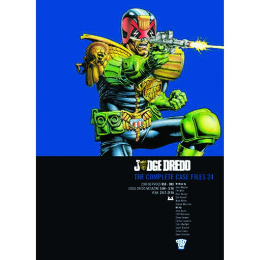 JUDGE DREDD COMP CASE FILES VOL 24 TPB - Books-Graphic-Novels