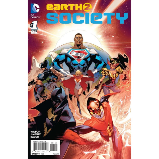EARTH 2 SOCIETY #1 - Comics