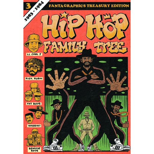 HIP HOP FAMILY TREE GN 03 - Books-Graphic-Novels