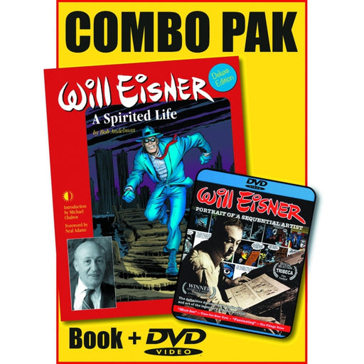WILL EISNER SPIRITED LIFE HC DVD COMBO PK - Books-Novels/Sf/Horror