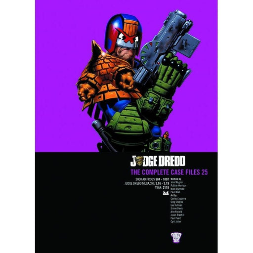 JUDGE DREDD COMP CASE FILES VOL 25 TPB - Books-Graphic-Novels