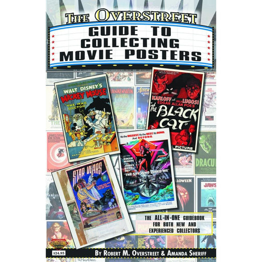 OVERSTREET GUIDE SC COLLECTING MOVIE POSTERS - Books Novels/SF/Horror