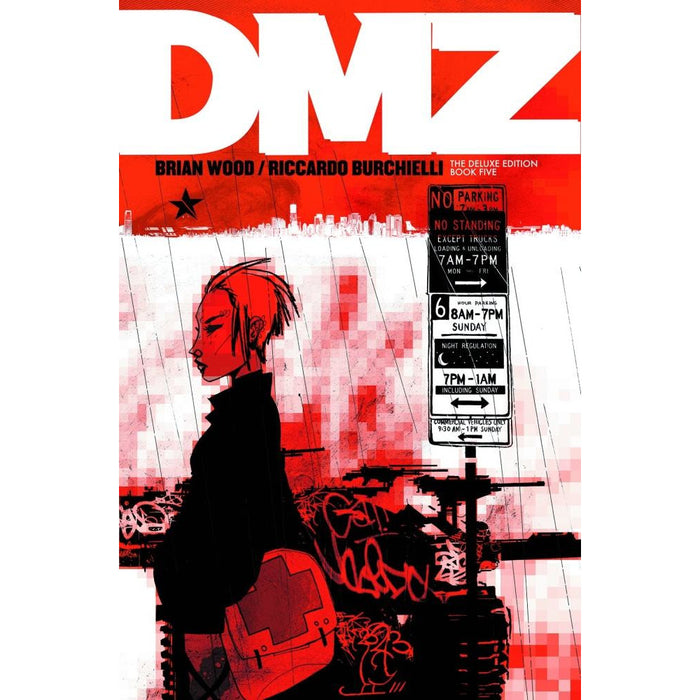 DMZ DELUXE EDITION HC BOOK 05 - Books-Graphic-Novels