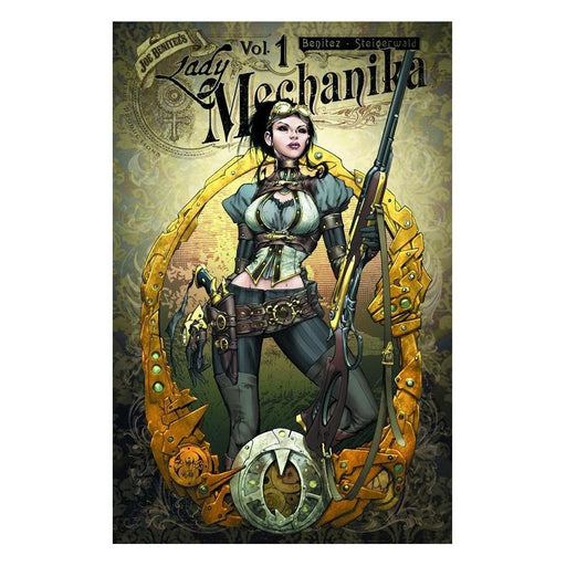 LADY MECHANIKA VOL 01 MYSTERY OF MECHANICAL CORPSE TPB - Books-Graphic-Novels