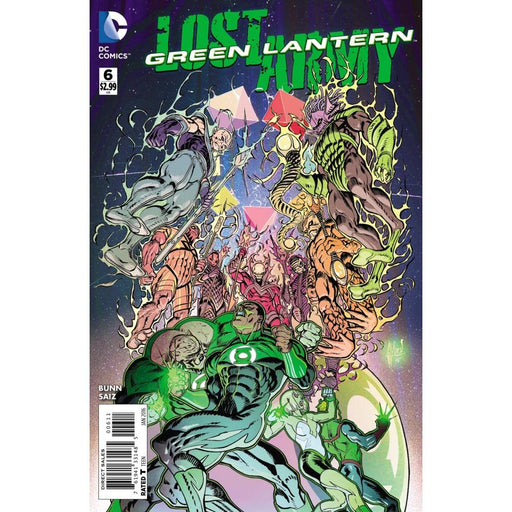 GREEN LANTERN THE LOST ARMY #6 - Comics