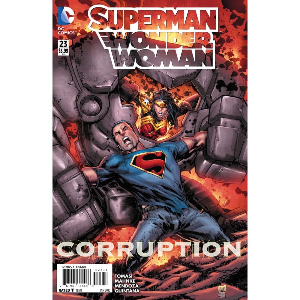 SUPERMAN WONDER WOMAN #23 - Comics