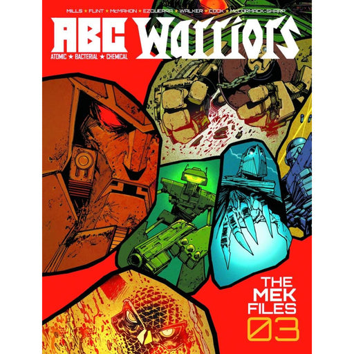 ABC WARRIORS MEK FILE HC VOL 03 - Books-Graphic-Novels
