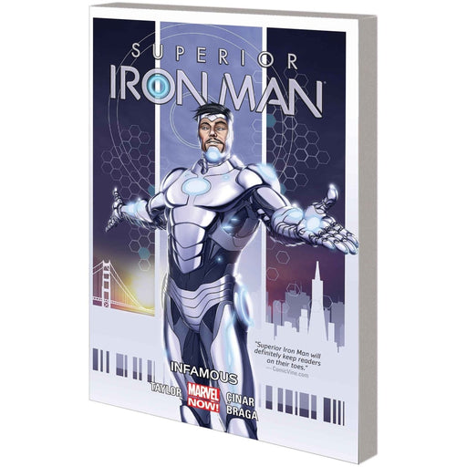 SUPERIOR IRON MAN VOL 01 INFAMOUS TPB - Books-Graphic-Novels
