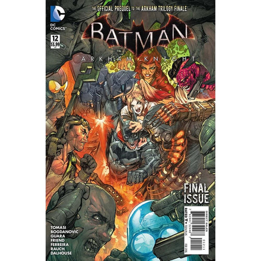 BATMAN ARKHAM KNIGHT #12 - Comics