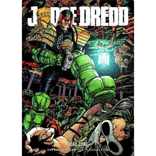 JUDGE DREDD DEAD ZONE TPB - Books-Graphic-Novels