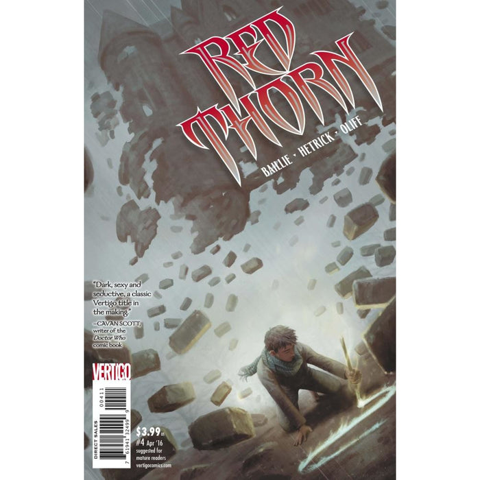 RED THORN #4 - Comics