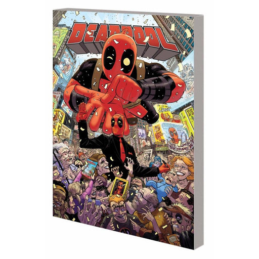 DEADPOOL WORLDS GREATEST VOL 01 MILLIONAIRE WITH MOUTH TPB - Books-Graphic-Novels