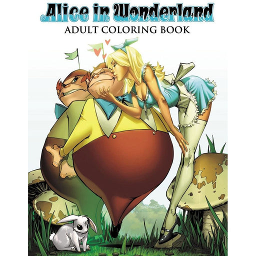 ALICE IN WONDERLAND ADULT COLORING BOOK - Books Graphic Novels