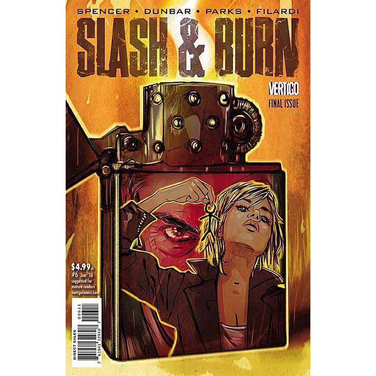 SLASH & BURN #6 - Comics