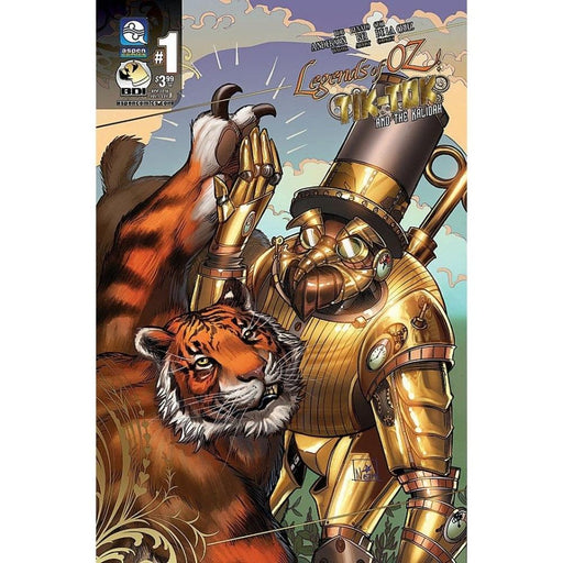 LEGENDS OF OZ TIK TOK AND KALIDAH #1 (OF 3) CVR (OF 3) - COMIC BOOK - Comics