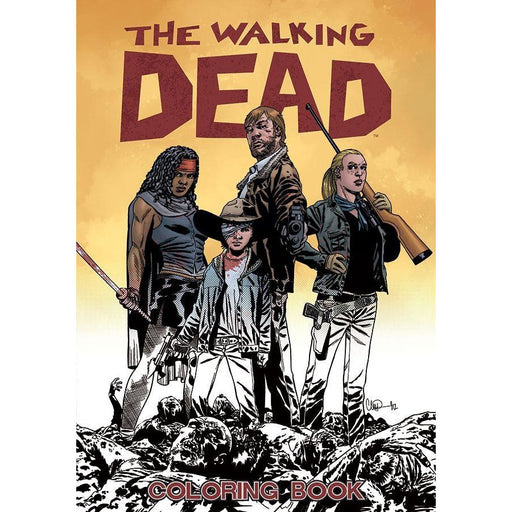 WALKING DEAD ADULT COLORING BOOK - BOOK - NOVEL/SF/HORROR - Books-Novels/Sf/Horror