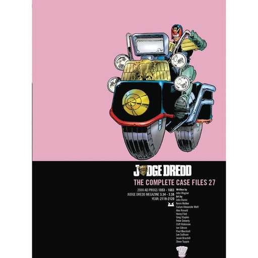 JUDGE DREDD COMP CASE FILES VOL 27 TPB - Books-Graphic-Novels