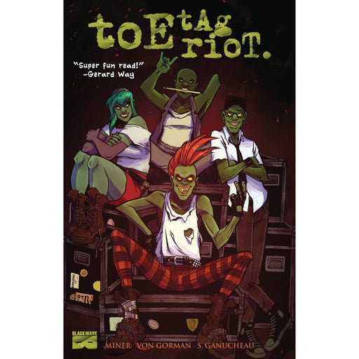 TOE TAG RIOT TPB - Books-Graphic-Novels