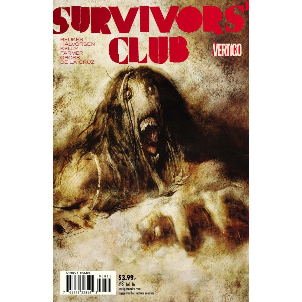 SURVIVORS CLUB #8 - Comics
