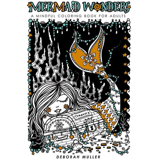 MERMAID WONDERS MINDFUL COLORING BOOK FOR ADULTS TPB - BOOK - NOVEL/SF/HORROR - Books-Novels/Sf/Horror