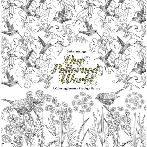 OUR PATTERNED WORLD A BEAUTIFUL COLORING BOOK TPB - BOOK - NOVEL/SF/HORROR - Books-Novels/Sf/Horror