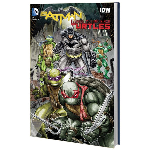 BATMAN TEENAGE MUTANT NINJA TURTLES HC - Books-Graphic-Novels
