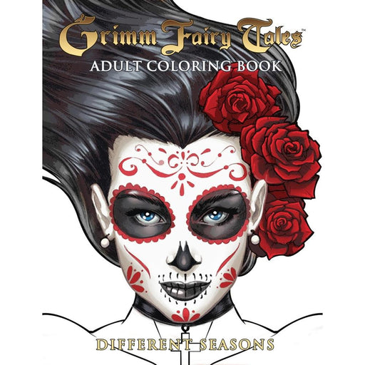 GFT ADULT COLORING BOOK DIFFERENT SEASONS ED - Books Novels/SF/Horror