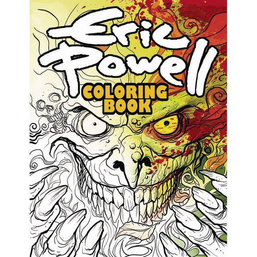 ERIC POWELL COLORING BOOK SC VOL 01 - Books-Novels/Sf/Horror