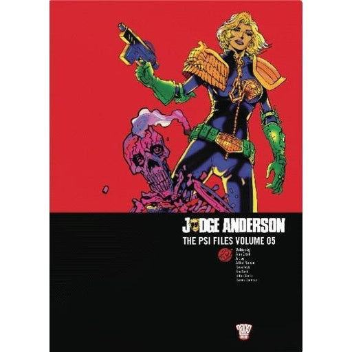 JUDGE ANDERSON PSI FILES VOL 05 TPB - Books-Graphic-Novels