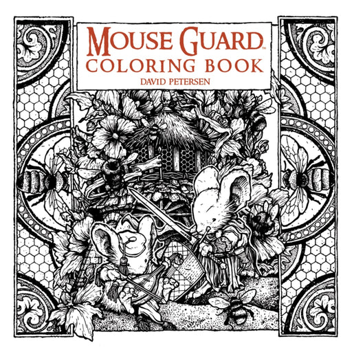MOUSE GUARD COLORING BOOK - BOOK - NOVEL/SF/HORROR - Books-Novels/Sf/Horror