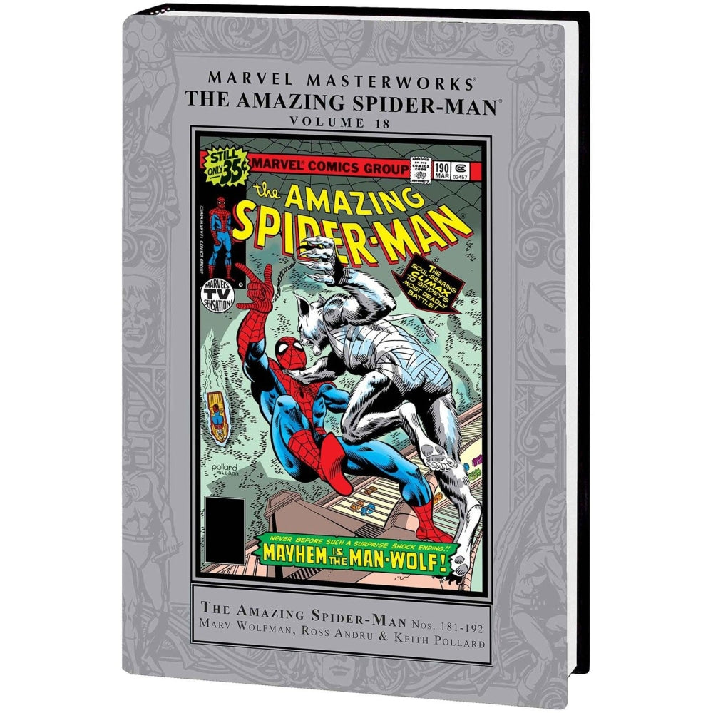MMW AMAZING SPIDER-MAN HC VOL 18 - Books-Graphic-Novels