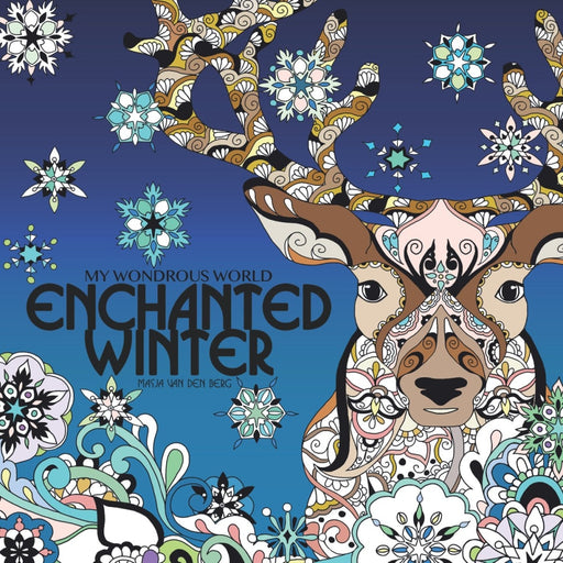 WONDROUS WORLD ENCHANTED WINTER ADULT COLORING BOOK TPB - BOOK - NOVEL/SF/HORROR - Books-Novels/Sf/Horror