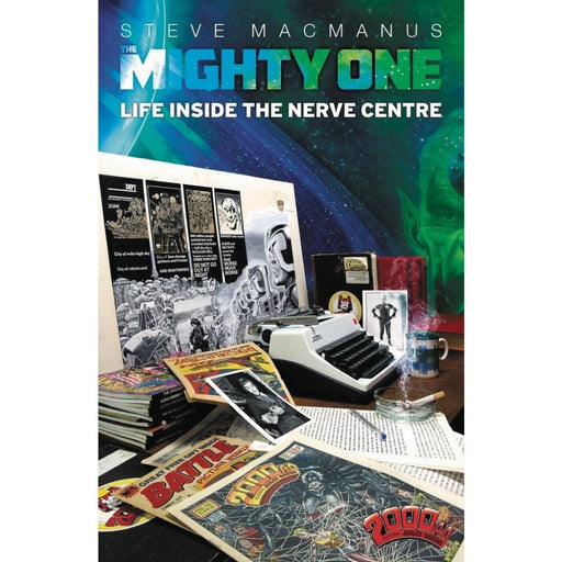 MIGHTY ONE MY LIFE INSIDE THE NERVE CENTRE SC - Books-Novels/Sf/Horror