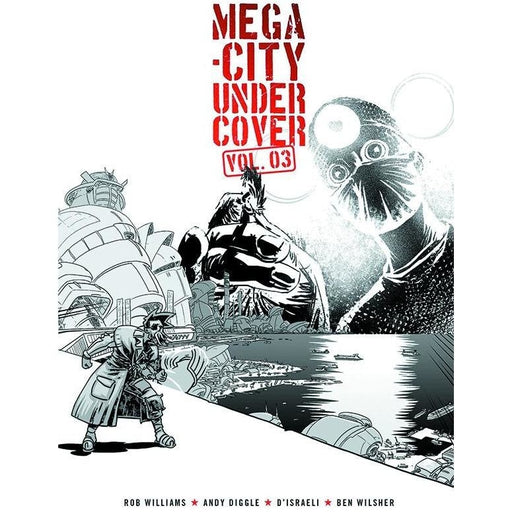 MEGA CITY UNDERCOVER VOL 03 TPB - Books-Graphic-Novels