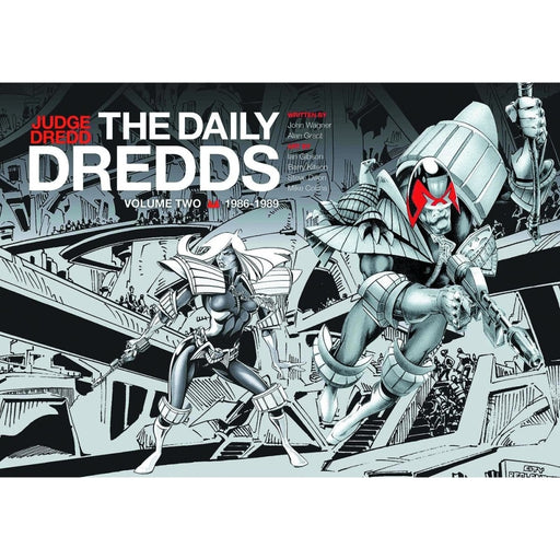 JUDGE DREDD DAILY DREDDS HC VOL 02 - Books-Graphic-Novels