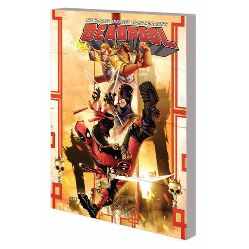 DEADPOOL WORLDS GREATEST VOL 04 TEMPORARY INSANITATION TPB - Books-Graphic-Novels