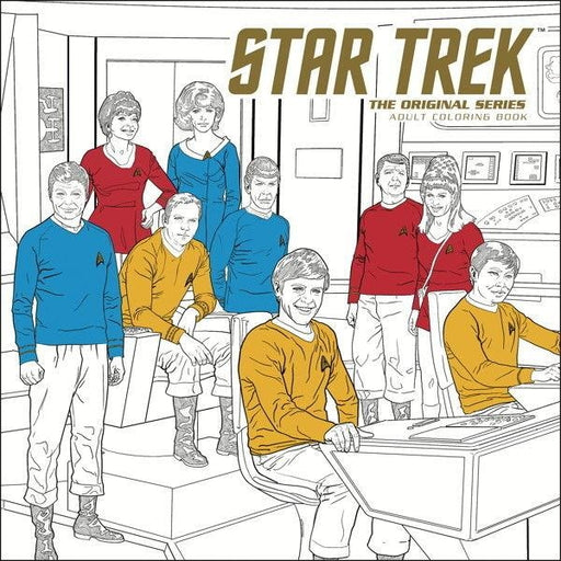 STAR TREK ORIGINAL SERIES ADULT COLORING BOOK VOLUME 1 TPB - Books Novels/SF/Horror
