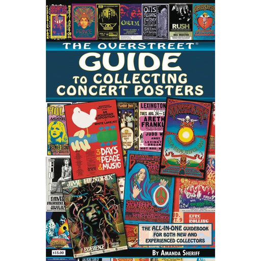 OVERSTREET GUIDE SC COLLECTING CONCERT POSTERS - Books Novels/SF/Horror