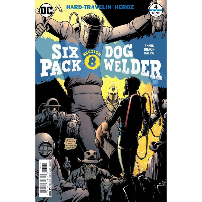 SIXPACK & DOGWELDER HARD-TRAVELIN HEROZ #4 (OF 6) - Comics