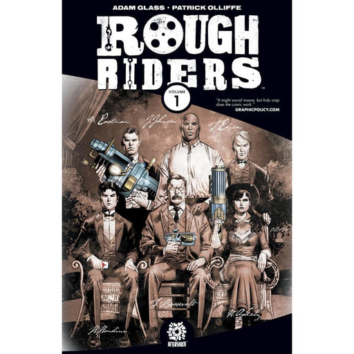 ROUGH RIDERS 01 TPB - Books-Graphic-Novels