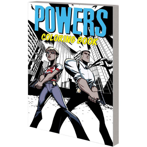 POWERS COLORING BOOK TPB - BOOK / GRAPHIC NOVEL - Books-Graphic-Novels