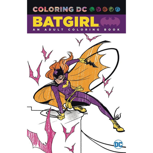 BATGIRL AN ADULT COLORING BOOK TPB - Books-Graphic-Novels