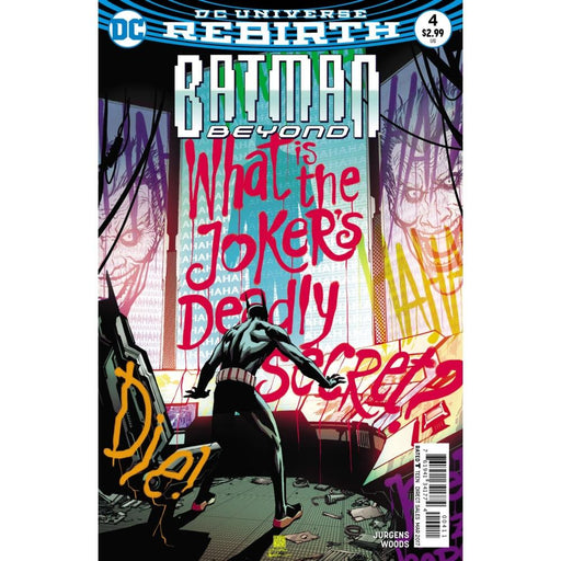 BATMAN BEYOND #4 - COMIC BOOK - Comics