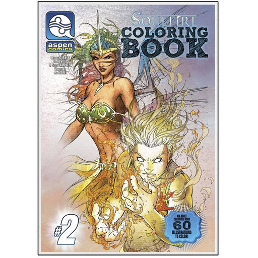 SOULFIRE COLORING BOOK SPECIAL 02 TPB - BOOK / GRAPHIC NOVEL - Books-Graphic-Novels